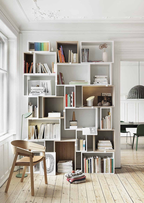 Designbutiken   muuto hylla stacked small