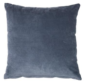 Chamois-kuddfodral-sammet-denimblå