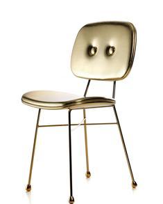 Moooi-The golden chair