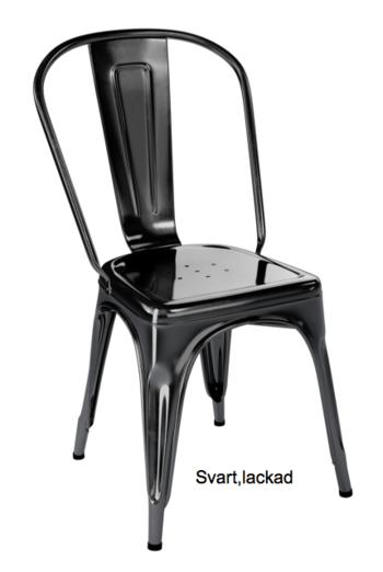 Tolix A stol, 2-pack grå