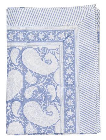 NYHET Chamois-paisley-duk blå, 2 storlekar