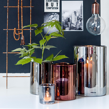 Skogsberg & Smart Hurricane lamp brons