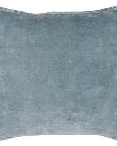 Chamois-kuddfodral-sammet-cashmere blue