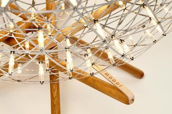Moooi- Raimond Tensegrity golv lampa