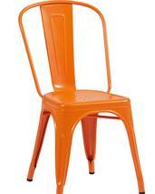 Tolix A stol, 2-pack ,RAL 2003,Orange