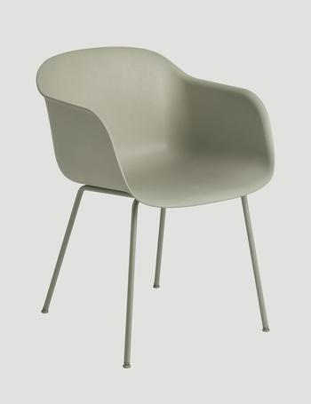 Muuto Fiber armchair, tube base