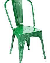 Tolix A stol, 2-pack, grön,klarlackad