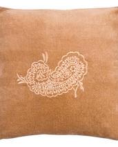 Chamois-kudde-sammet-paisley