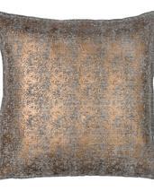 Chamois-metallskimrande kuddfodral