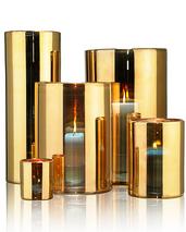 Skogsberg & Smart Hurricane lamp guld