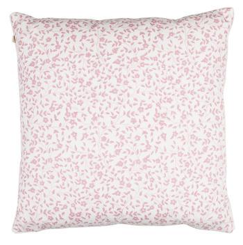 Chamois-kuddfodral-liten blomma-Fuchsia Rose