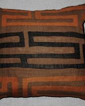 African tribal -Kuba Clot -kuddfodral
