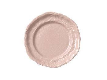 Sthål- Arabesque -assiette rosa