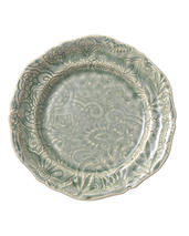 Sthål- Arabesque -assiette ,antik
