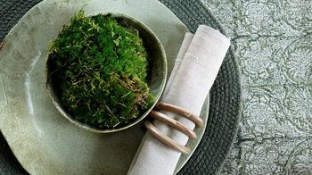 NYHET Chamois-duk-paradise -green
