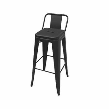 TOLIX barstol med lågt ryggstöd